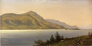 Tontue Mountain, Lake George 1867