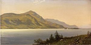 Tontue Mountain, Lake George 1867