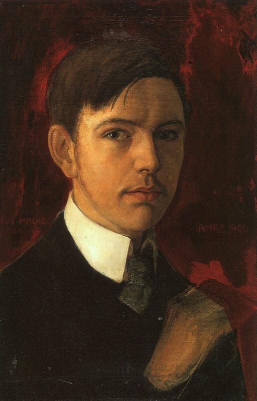 Self-Portrait (Selbstbildnis), 1906