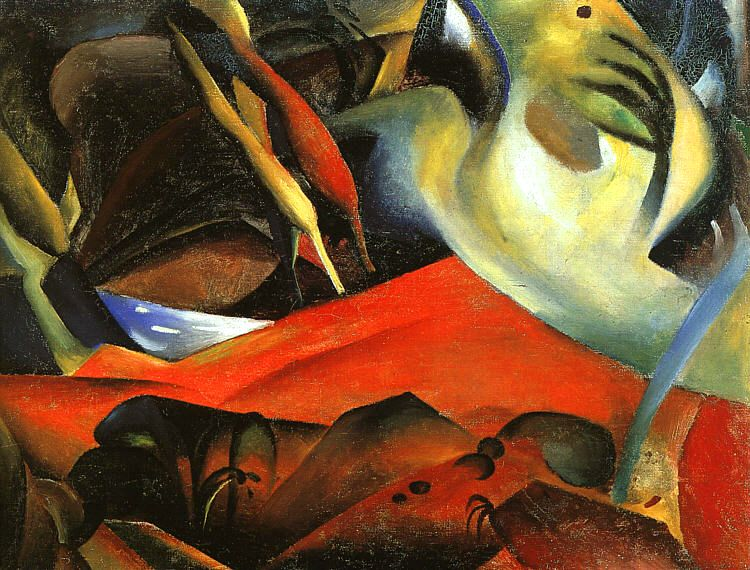 The Storm (Der Sturm) 1911
