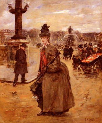 Elegante, Place De La Concorde, Paris Eduardo Leon Garrido