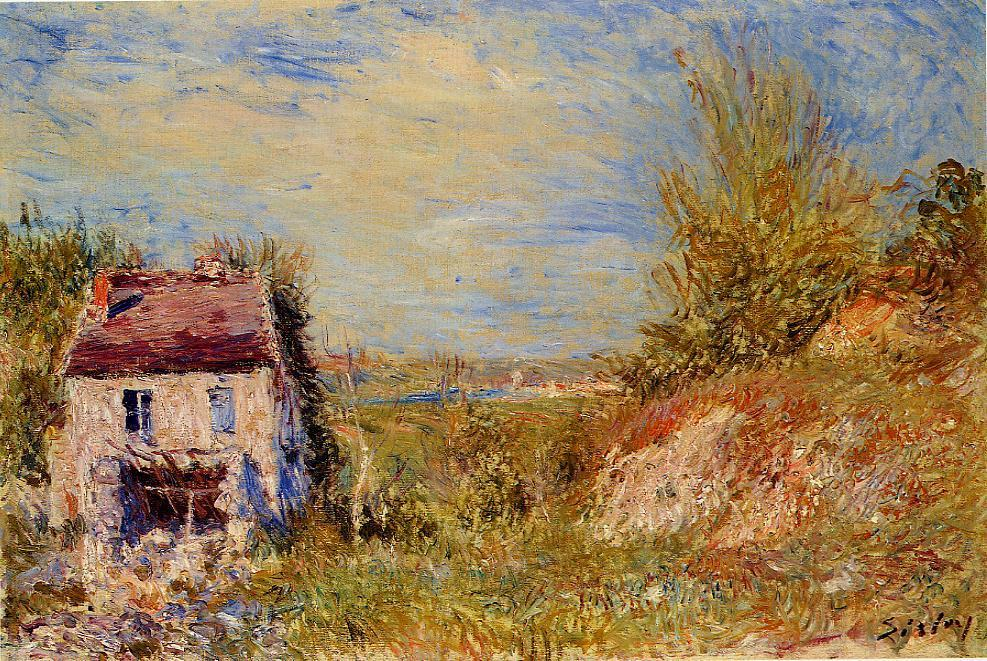 Abandoned House  1886 | Alfred Sisley | Oil Painting