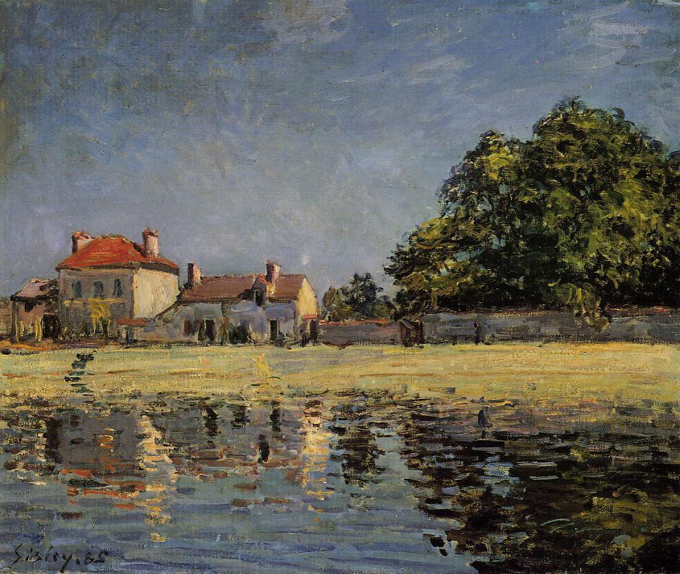 Banks of the Loing Saint-Mammes  1885 | Alfred Sisley | Oil Painting