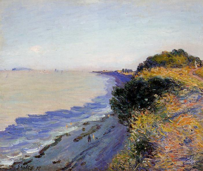 Bristol Channel from Penarth Evening  1897 | Alfred Sisley | Oil Painting