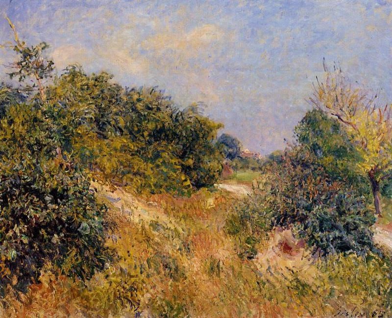 Edge of Fountainbleau Forest - June Morning  1885 | Alfred Sisley | Oil Painting