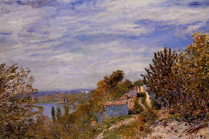Footpath in the Gardens at By  1881 | Alfred Sisley | Oil Painting
