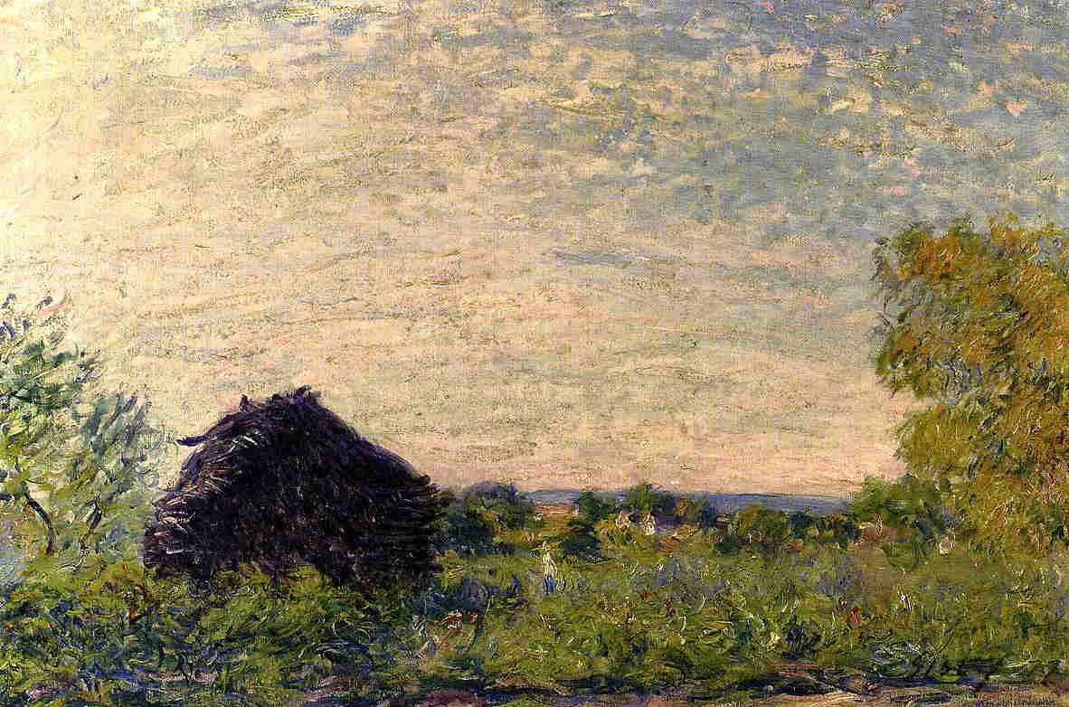 Haystack  1877 | Alfred Sisley | Oil Painting