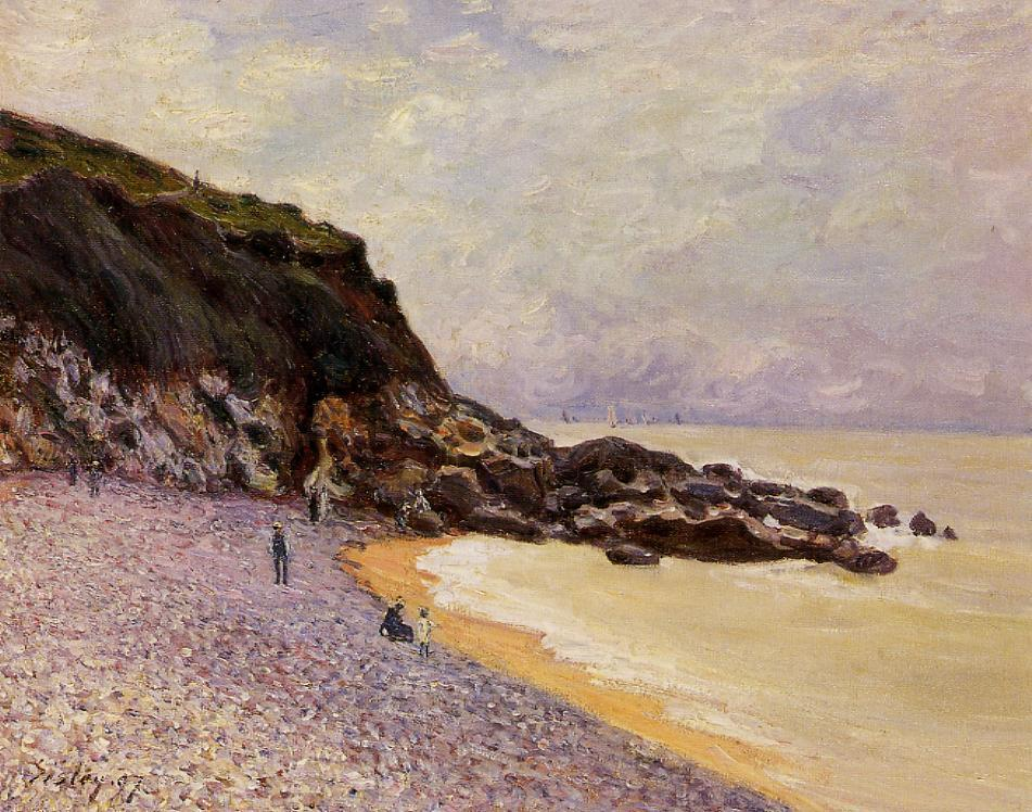 Lady's Cove before the Storm  1897 | Alfred Sisley | Oil Painting
