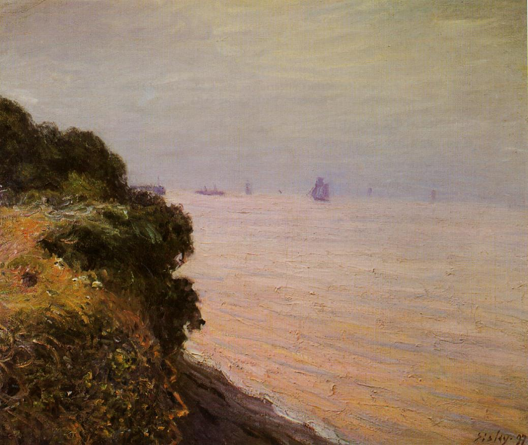 Langland Bay England Morning  1897 | Alfred Sisley | Oil Painting