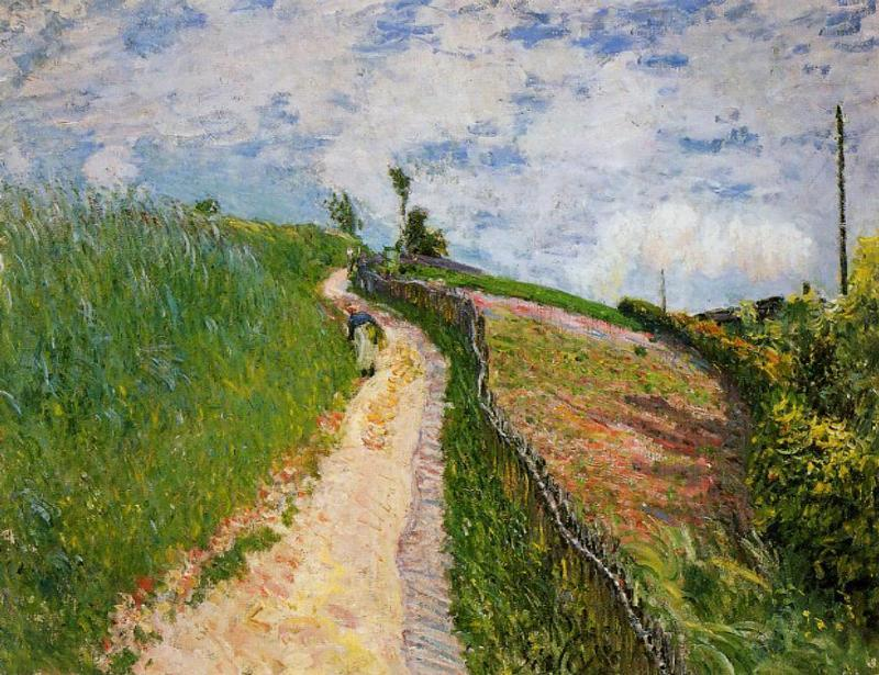 The Hill Path Ville d'Avray  1879 | Alfred Sisley | Oil Painting