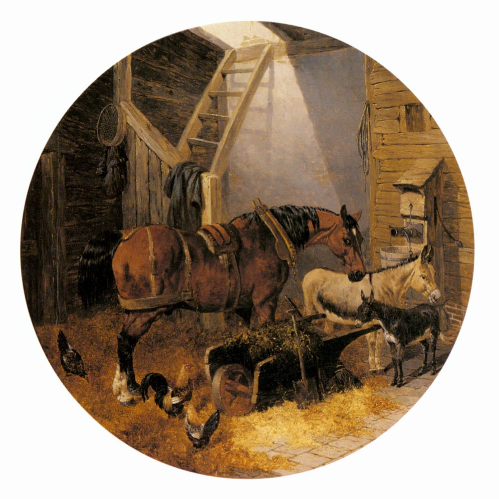 The Farmyard4 | Jr John Frederick Herring | Oil Painting