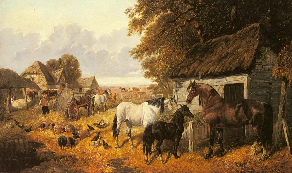 Bringing In The Hay | Jr John Frederick Herring | Oil Painting