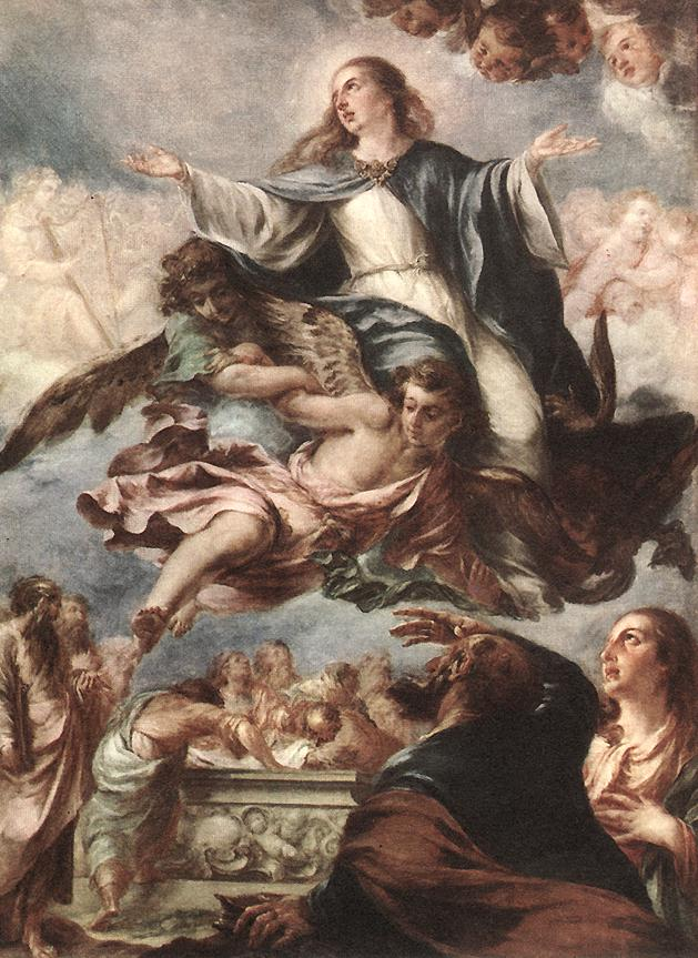 Assumption of the Virgin 1659 | Juan De Valdes Leal | Oil Painting