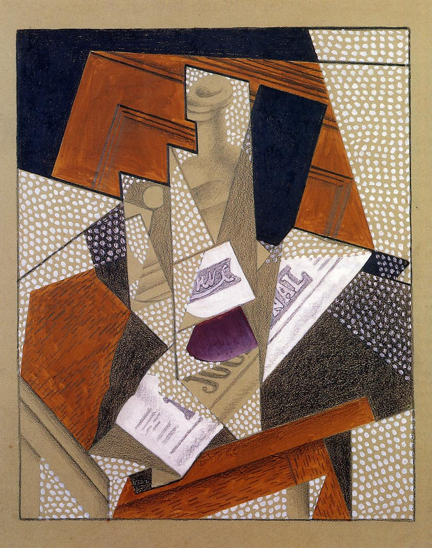 Bottle 1916 | Juan Gris | Oil Painting