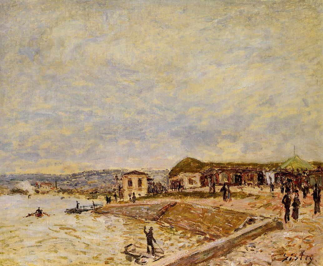 The Seine at Daybreak  1878 | Alfred Sisley | Oil Painting