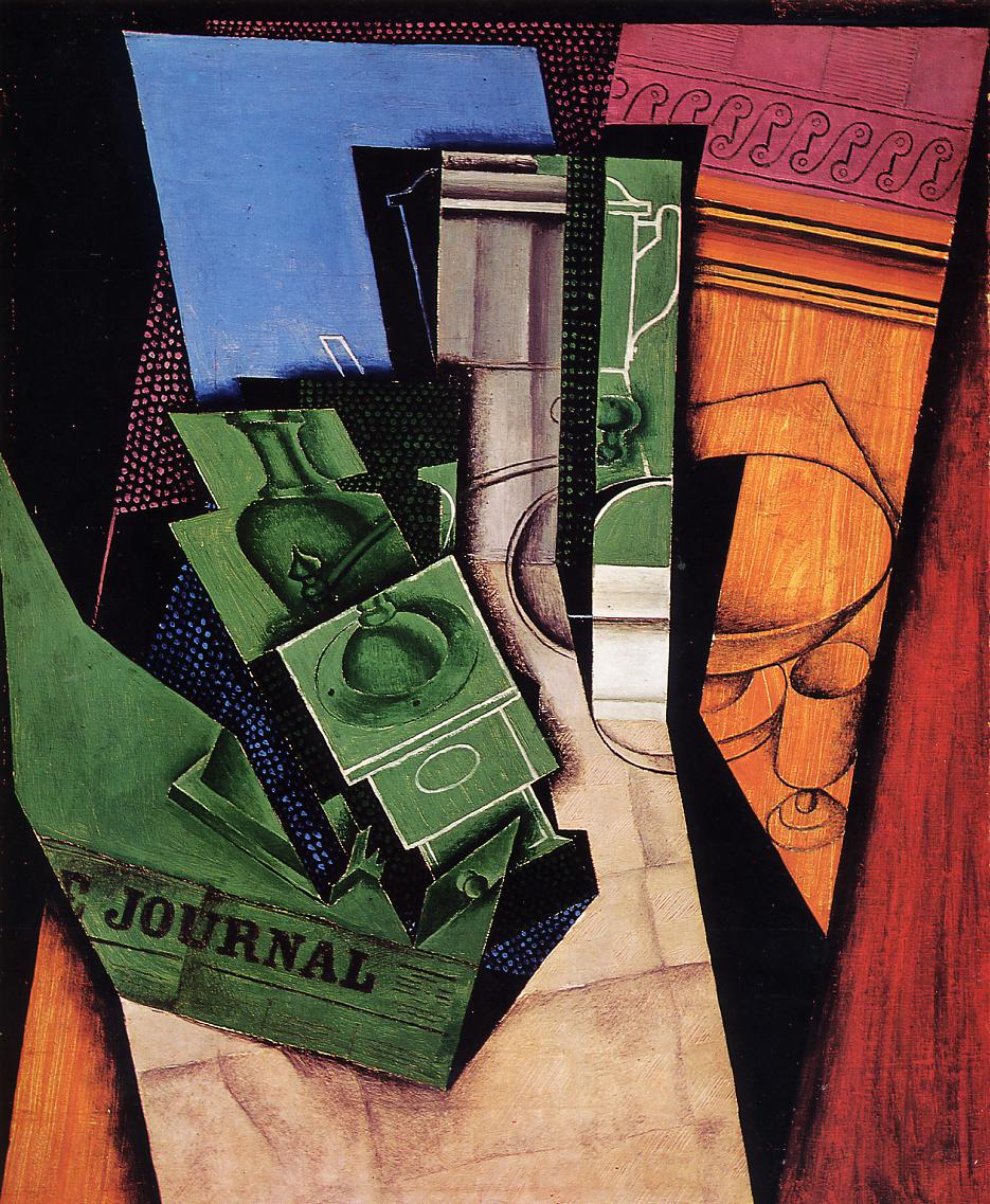 Breakfast 1915 | Juan Gris | Oil Painting