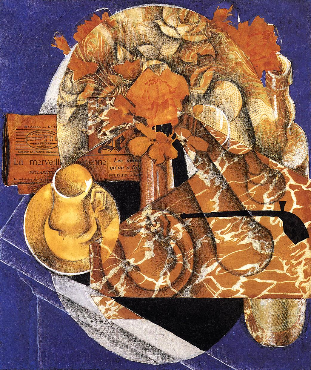 Flowers 1914 | Juan Gris | Oil Painting