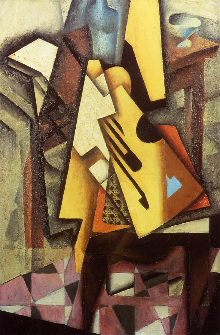 Guitar on a Chair 2 1913 | Juan Gris | Oil Painting