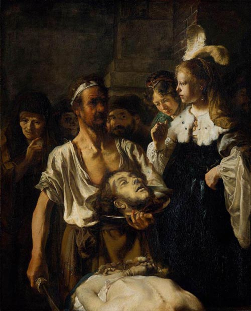 The Beheading of St John the Baptist 1640 | Carel Fabritius | Oil Painting