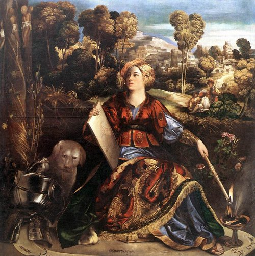 Circe 1520 | Dosso Dossi | Oil Painting