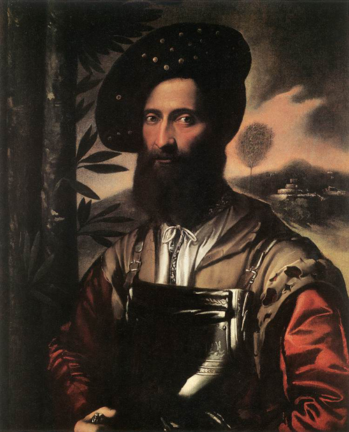 Portrait of a Warrior 1530 | Dosso Dossi | Oil Painting