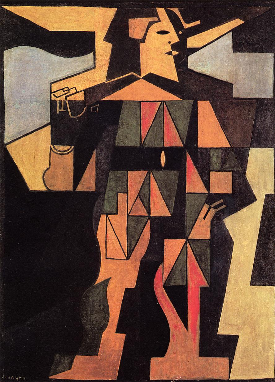 Harlequin 1918 | Juan Gris | Oil Painting