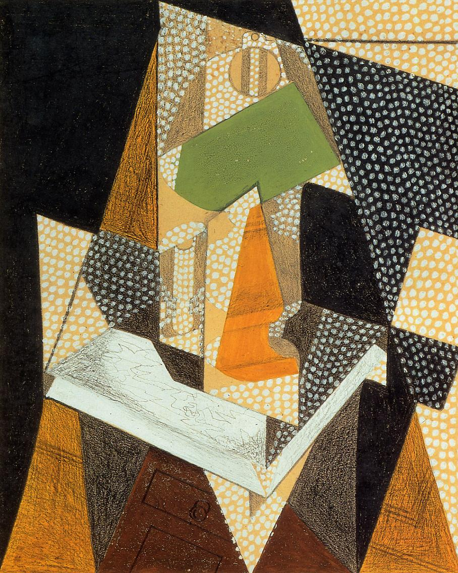 Lamp 1916 | Juan Gris | Oil Painting