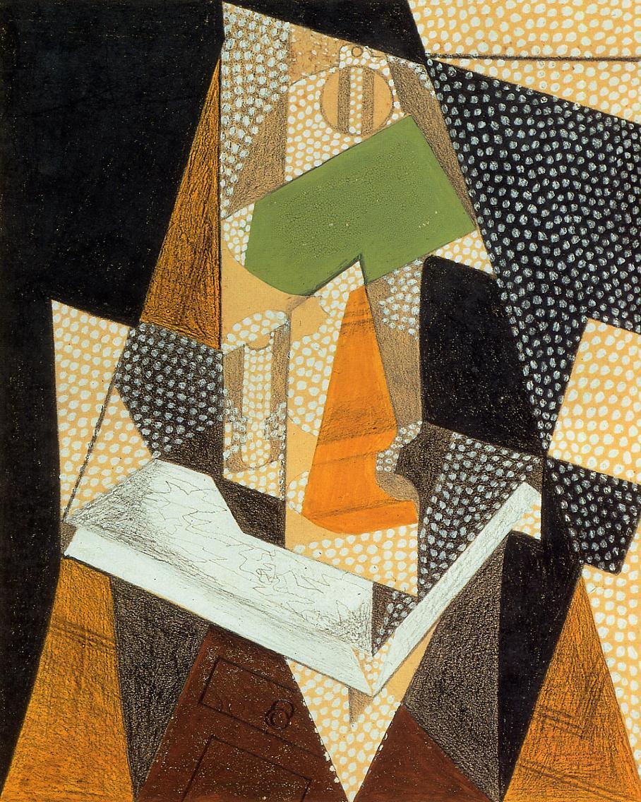 Lamp 1916 | Juan Gris | Oil Painting
