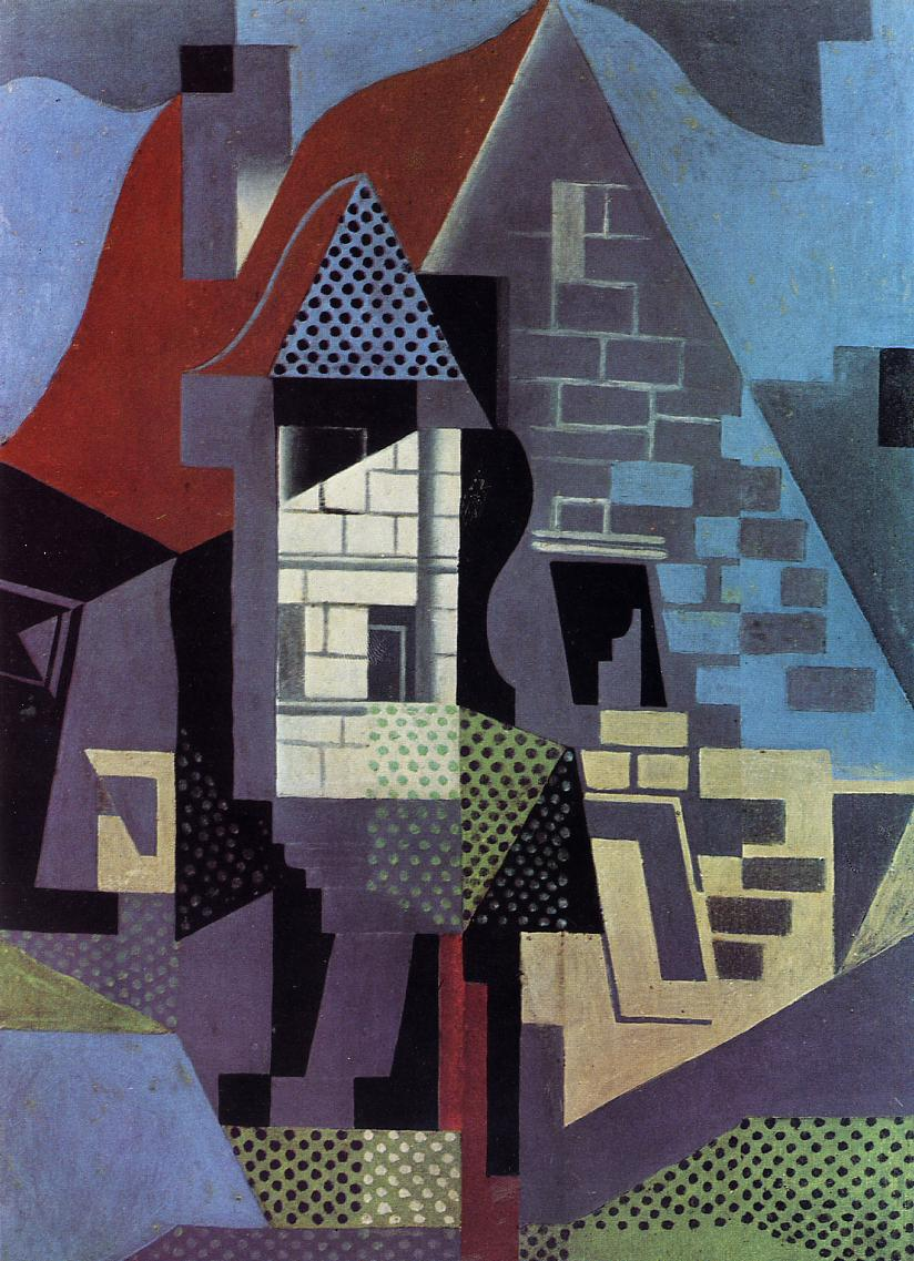 Landscape at Beaulieu 1918 | Juan Gris | Oil Painting