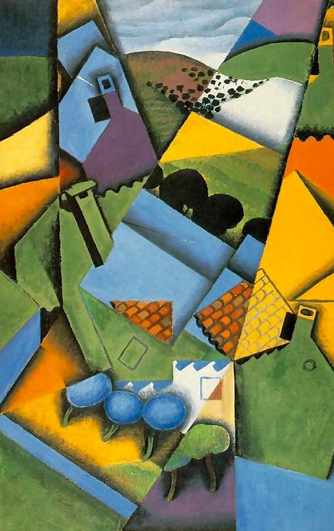 Landscape at Ceret 1913 | Juan Gris | Oil Painting