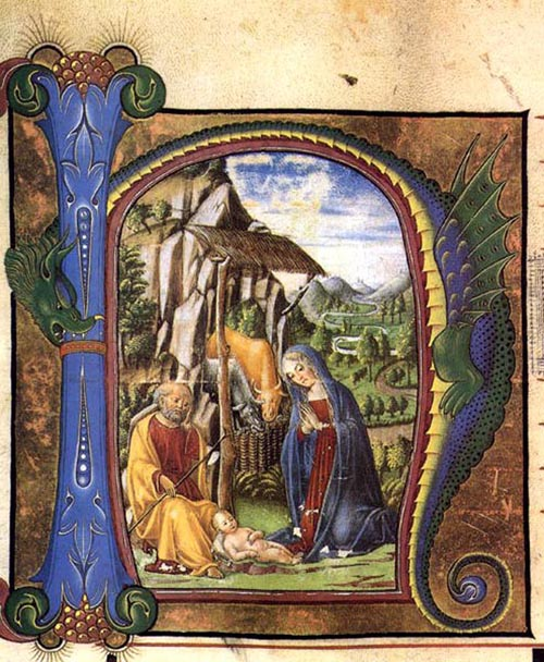 Nativity 1460 | Francesco Di Giorgio Martini | Oil Painting