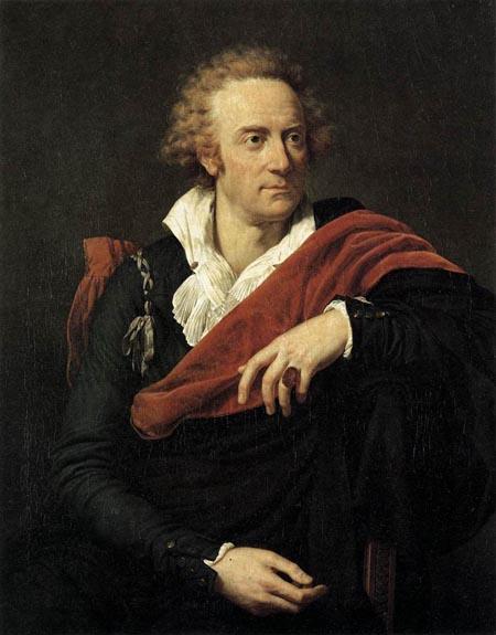 Portrait of Vittorio Alfieri 1793 | Francois Xavier Fabre | Oil Painting