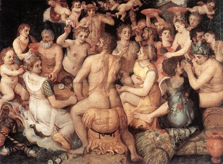 Banquet of the Gods 1550 | Frans Floris | Oil Painting