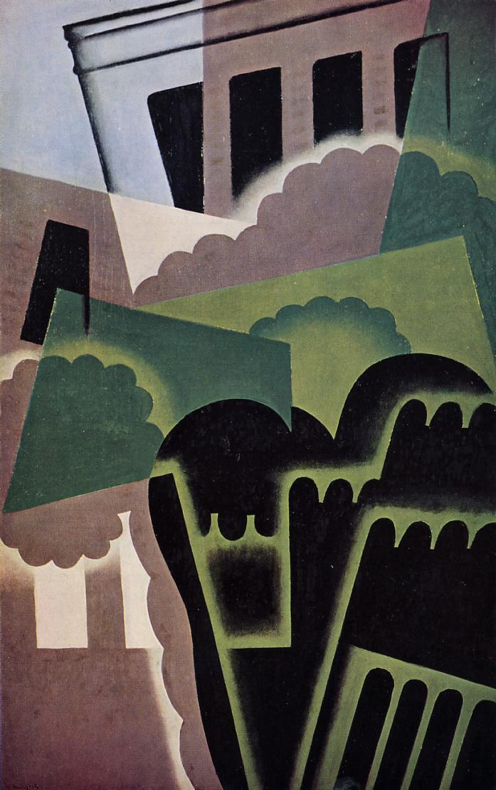 Landscape 1917 | Juan Gris | Oil Painting