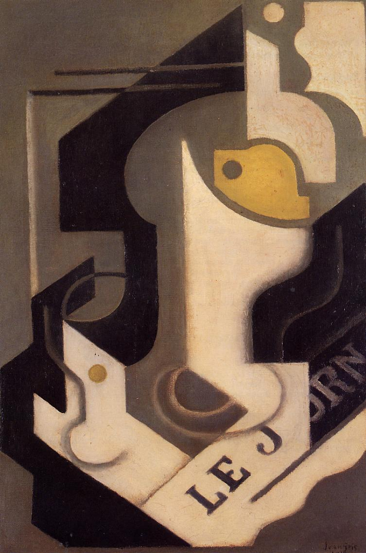 Lemon 1919 | Juan Gris | Oil Painting