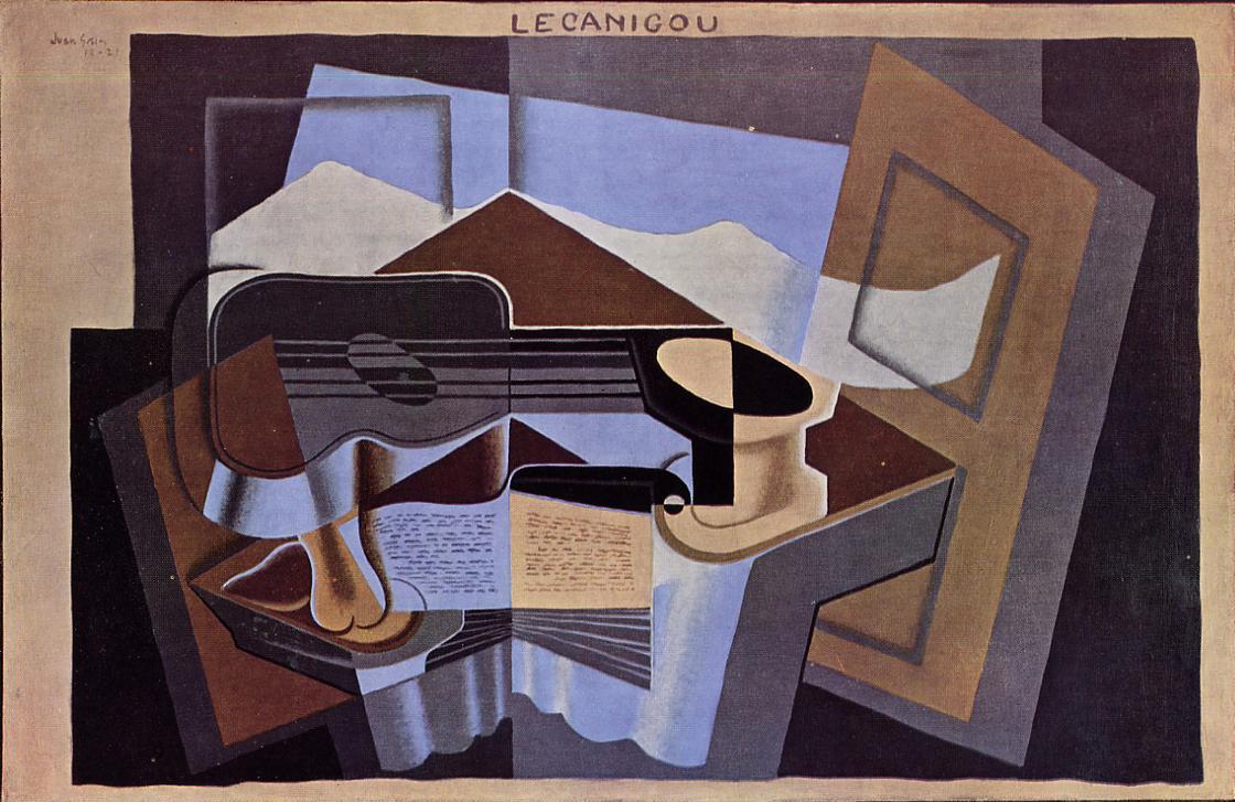 Le Canigou 1921 | Juan Gris | Oil Painting