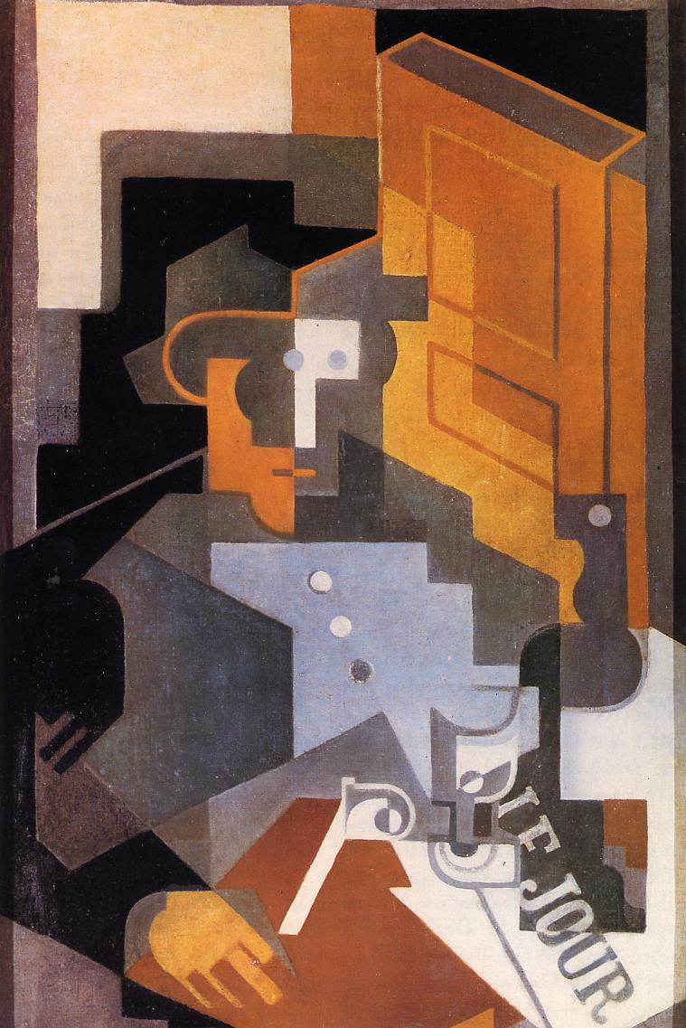 Man from Touraine 1918 | Juan Gris | Oil Painting