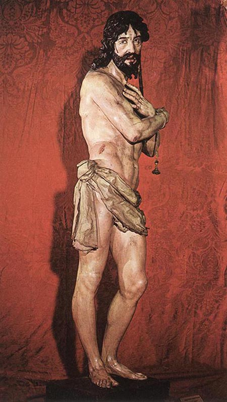 Ecce Homo Polychrome wood | Gregorio Fernandez | Oil Painting