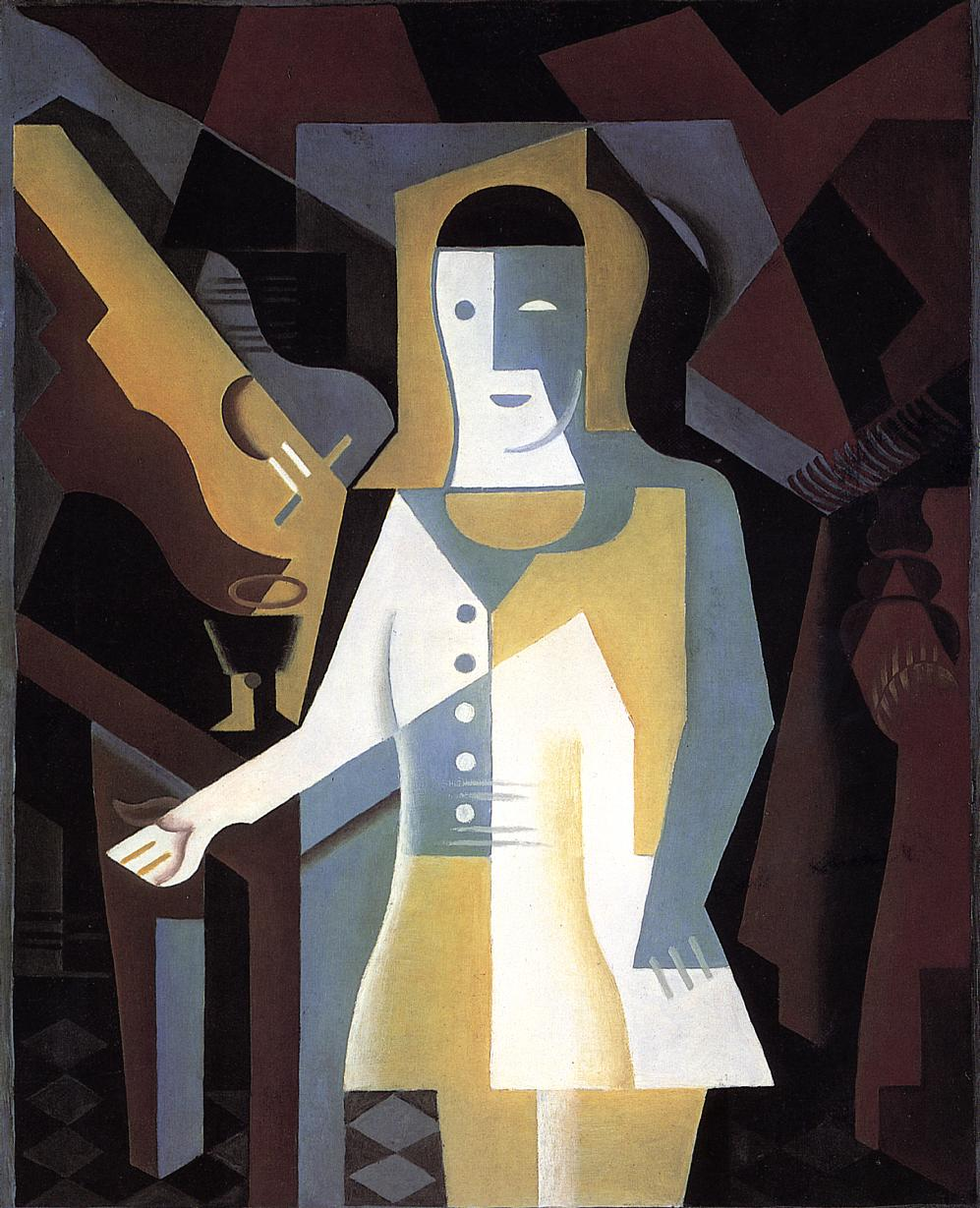 Pierrot 1919 | Juan Gris | Oil Painting
