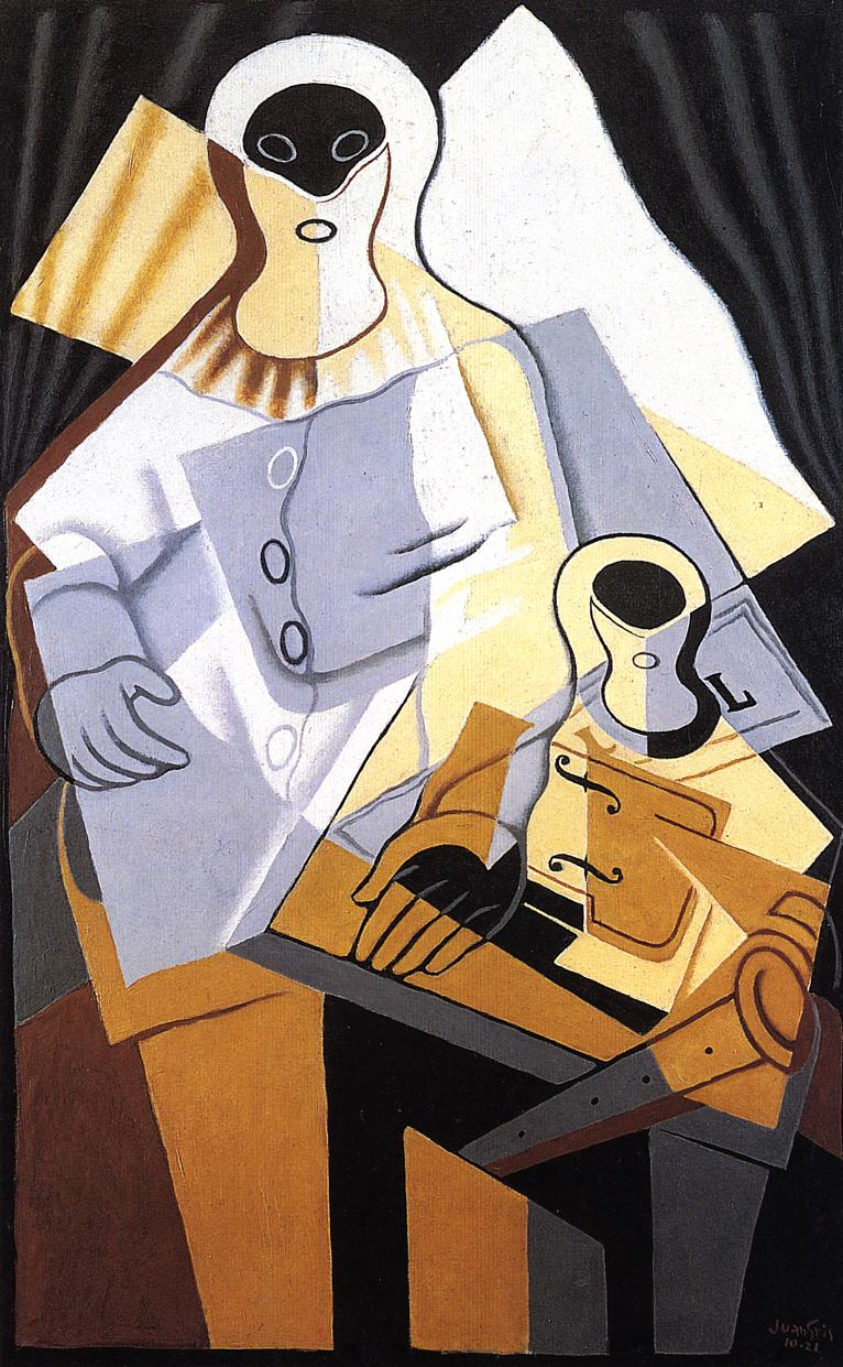 Pierrot 1921 | Juan Gris | Oil Painting