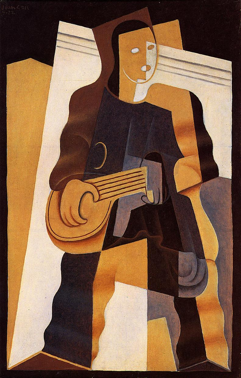 Pierrot 1922 | Juan Gris | Oil Painting