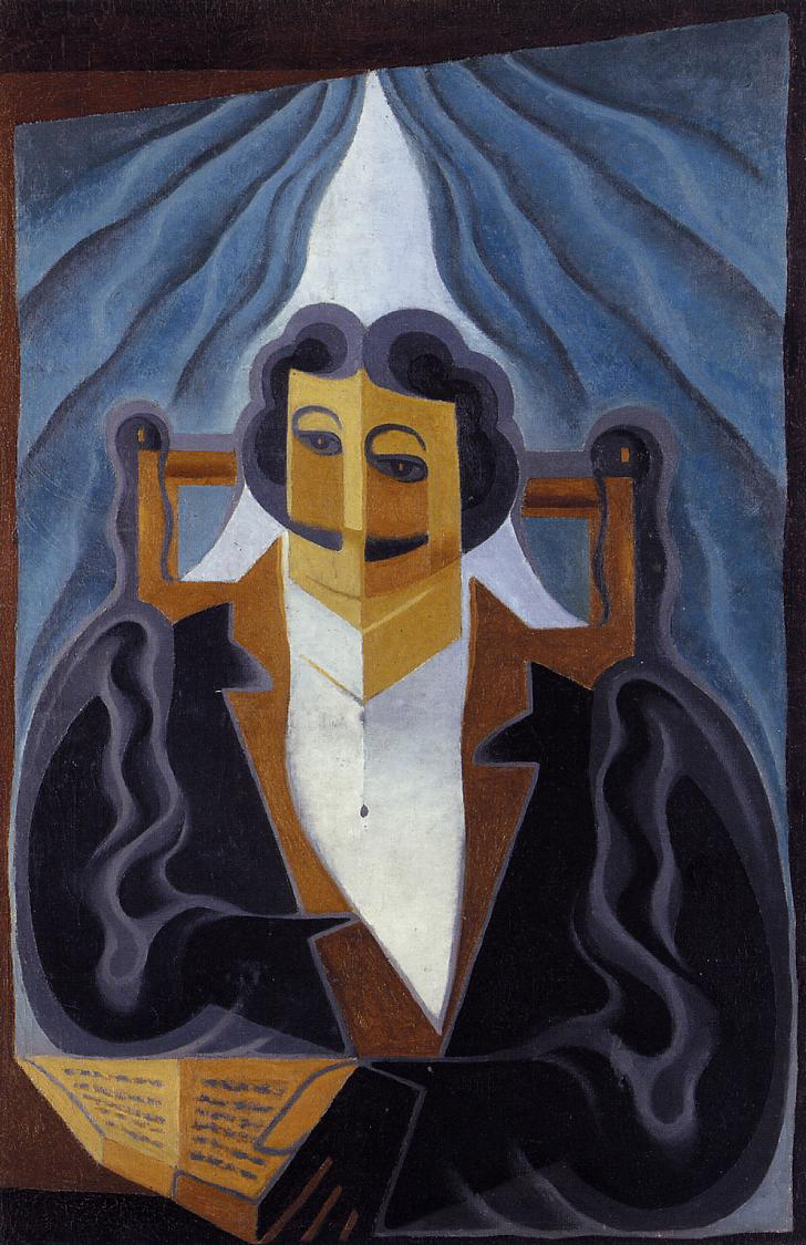Portrait of a Man 1923 | Juan Gris | Oil Painting