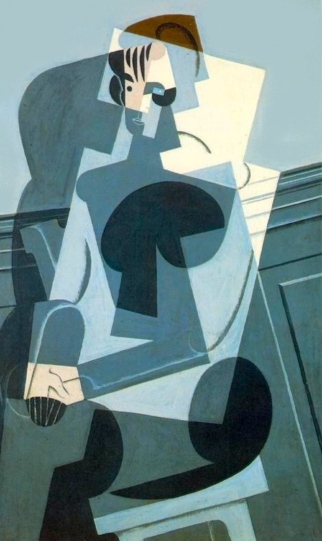 Portrait of Josette (aka His Daughter) 1916 | Juan Gris | Oil Painting