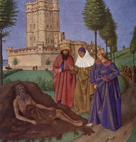 Job and his False Comforters 1452 1460 | Jean Fouquet | Oil Painting