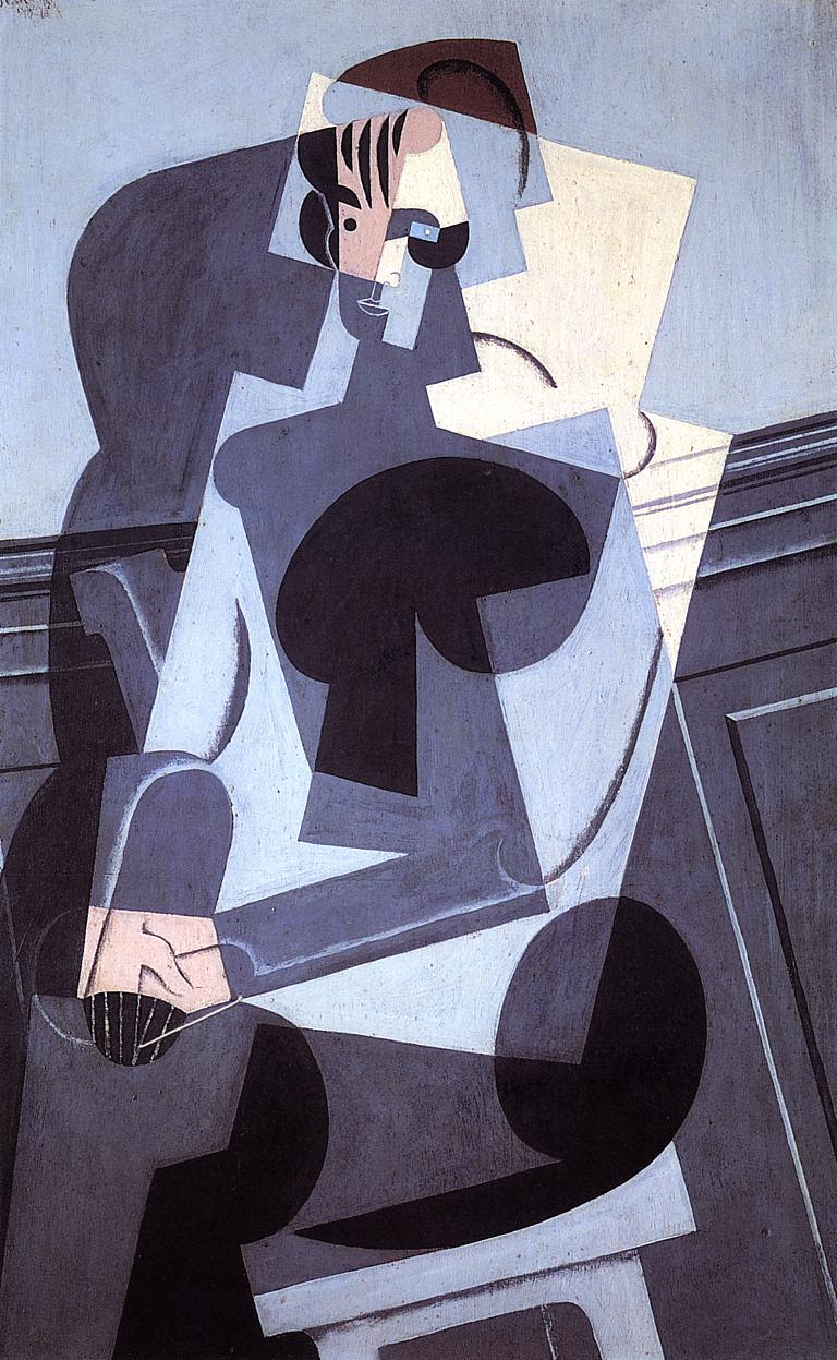 Portrait of Madame Josette Gris 1916 | Juan Gris | Oil Painting