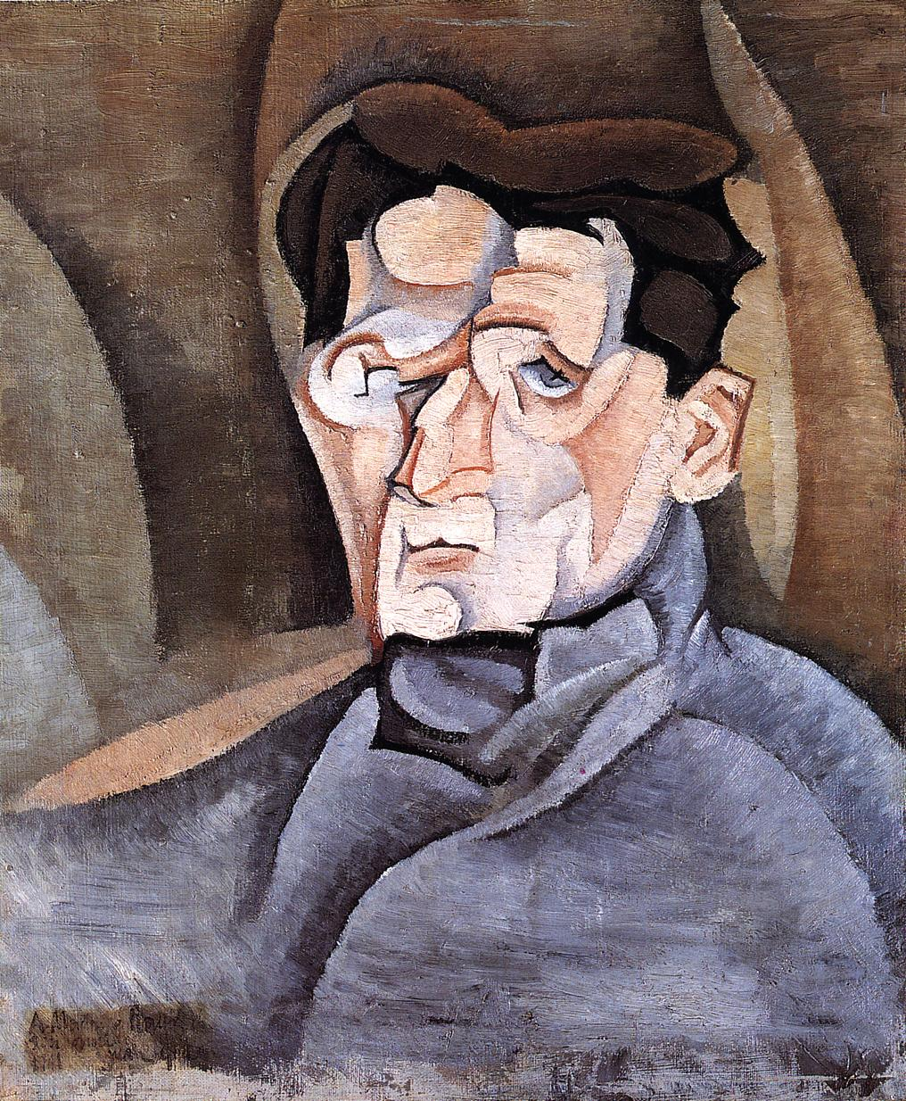 Portrait of Maurice Raynal 1912 | Juan Gris | Oil Painting