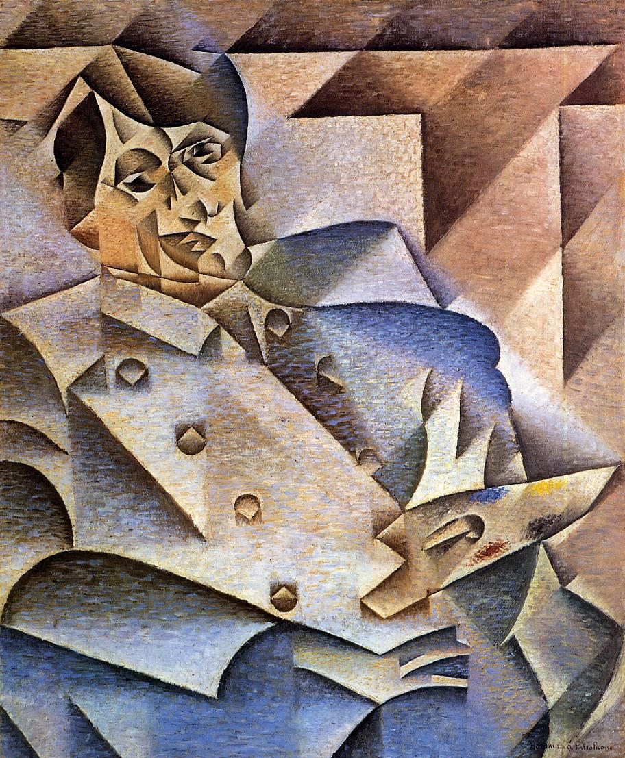 Portrait of Picasso 1912 | Juan Gris | Oil Painting