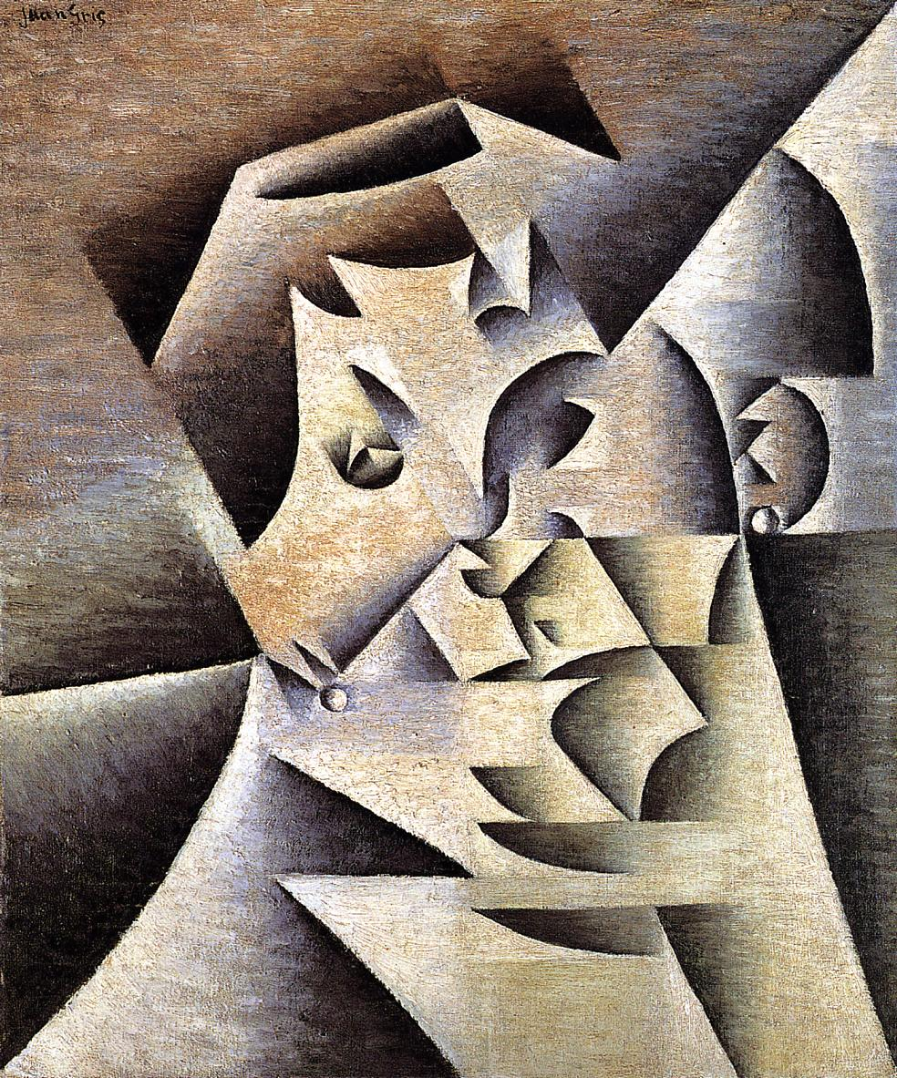 Portrait of the Artist Mother 1912 | Juan Gris | Oil Painting