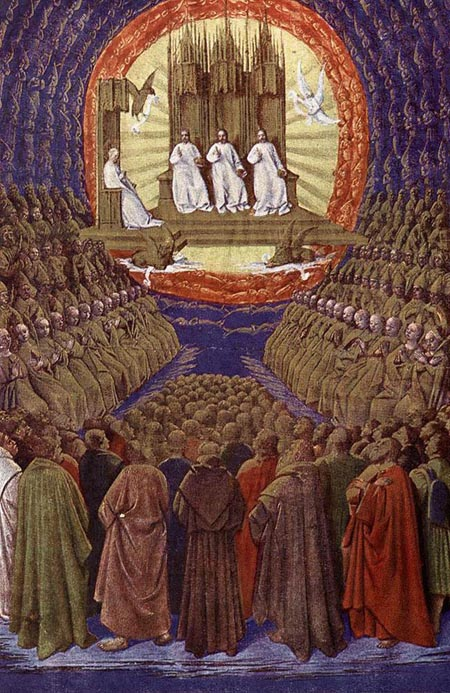 The Enthronement of the Virgin 1452 1460 | Jean Fouquet | Oil Painting