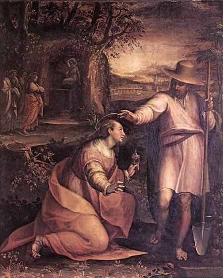 Jesus Appears to Mary Magdalene 1581 | Lavinia Fontana | Oil Painting